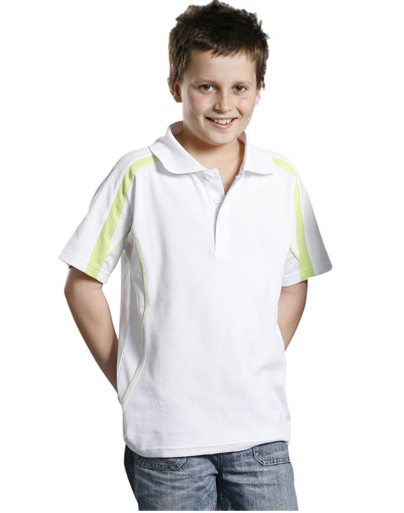 Winning Spirit-Winning Spirit Legend Kids Poly-cotton Blended Polo 2nd(2 Colour)--Uniform Wholesalers - 1