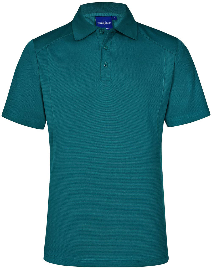 Winning Spirit Men's Breathable Bamboo Charcoal Short Sleeve Polo (PS59)