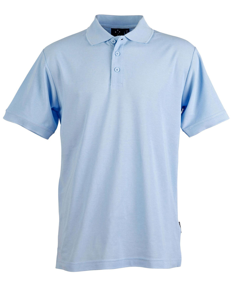 Winning Spirit Men's TrueDry® Solid Colour Pique Polo 2nd(5 Colour) (PS63)