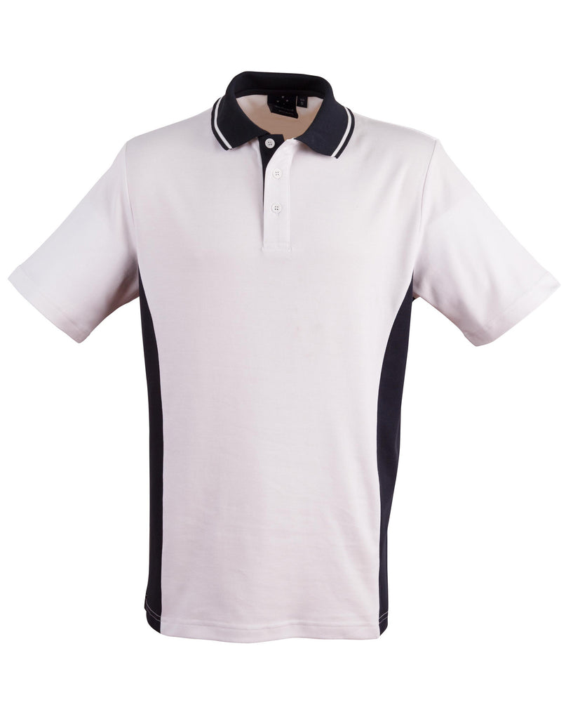 Winning Spirit Men's TrueDry® Contrast Short Sleeve Polo (2nd 3 Colours) (PS73)