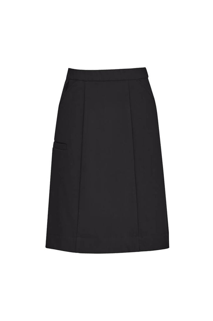 Biz Care Womens Comfort Waist Cargo Skirt (CL956LS)