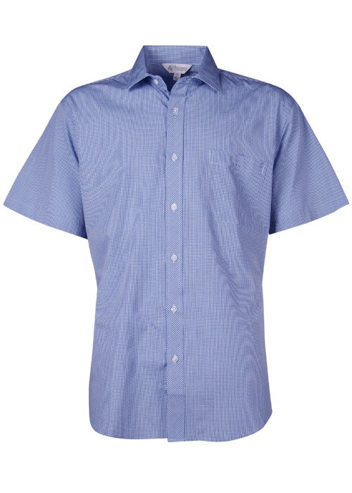 Aussie Pacific Mens Toorak Short Sleeve Shirt-(1901S)