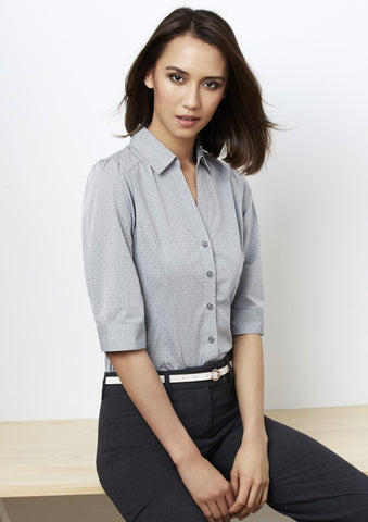 Biz Collection Trend Ladies 3/4 Shirt (S622LT)