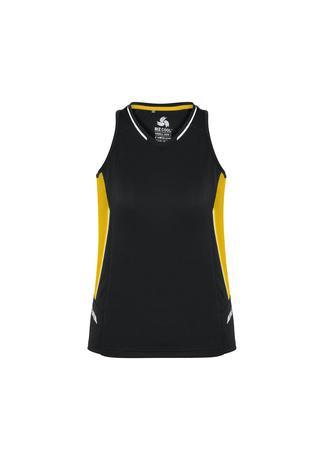 Biz Collection Renegade Ladies Singlet-(SG702L)