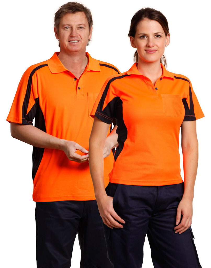 Winning Spirit Unisex Hi Vis Fashion Polo (SW25)