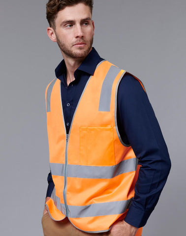 Winning Spirit Vic Rail Hi Vis Safety Vest- Unisex (SW40)
