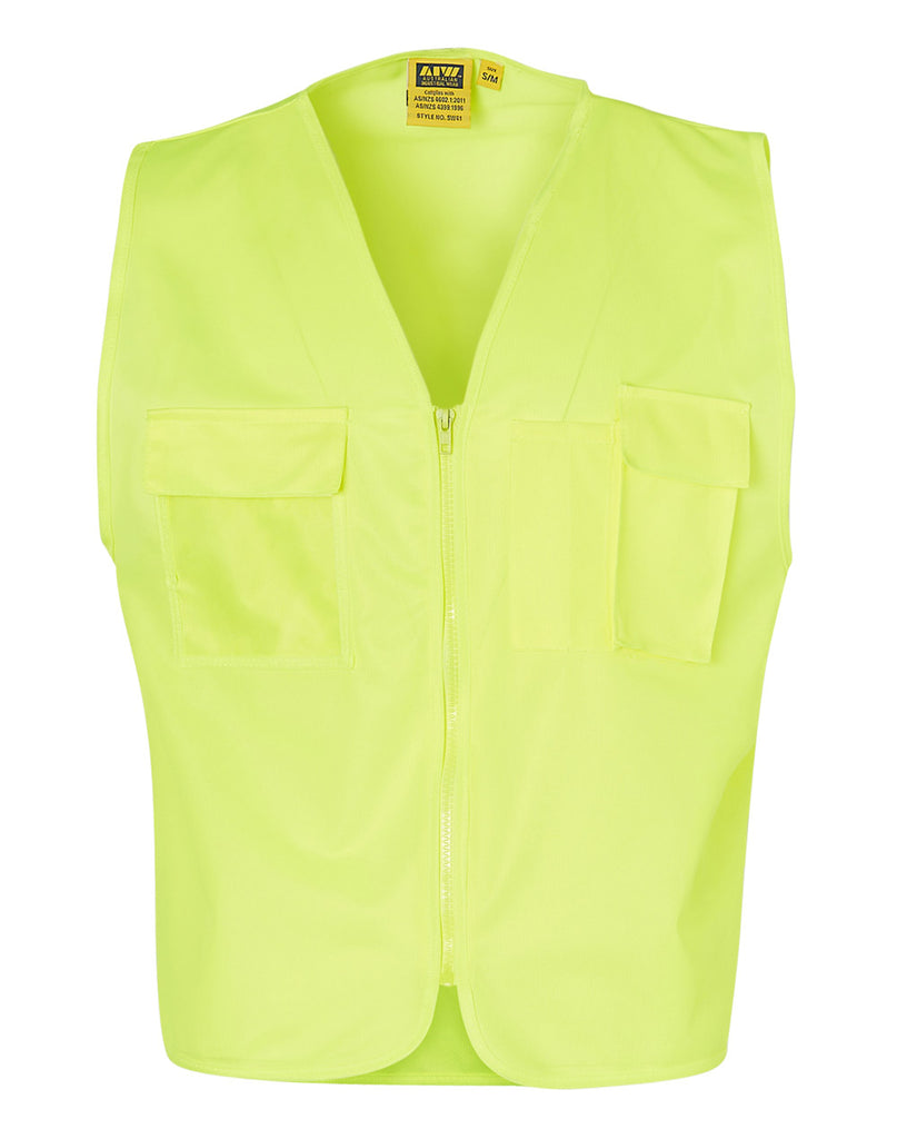 Winning Spirit High Visibility Safety Vest With ID Pocket (SW41)