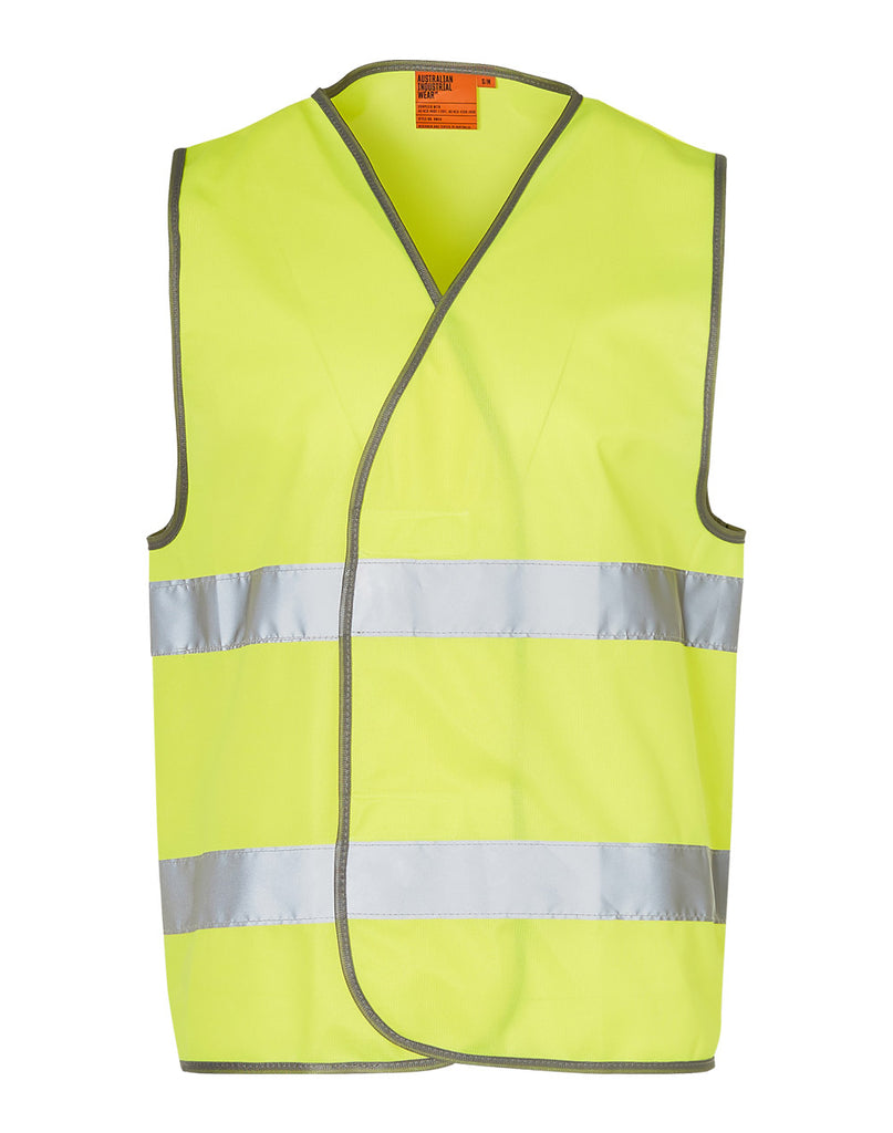Winning Spirit Hi-Vis Safety Vest With Reflective Tapes (SW44)