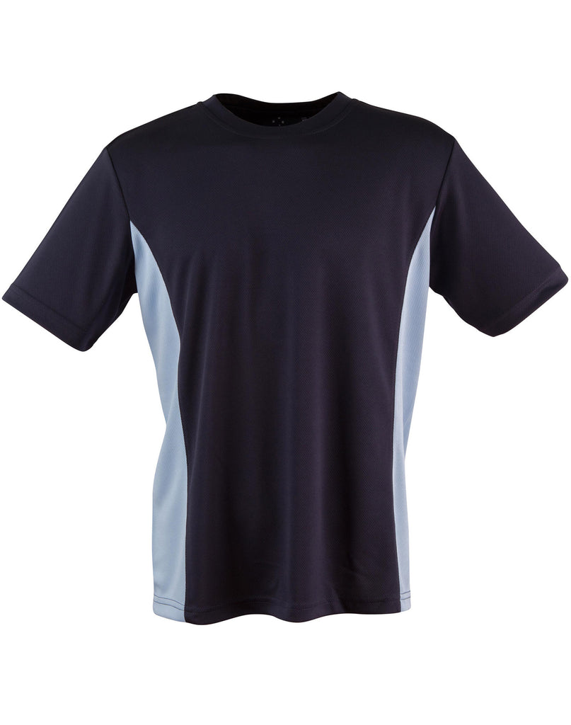 Winning Spirit Adults' Unisex Teammate CoolDry Mesh Contrast Tee (TS12) 2nd color