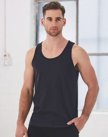 Winning Spirit Men's Trainer's Cotton Singlet  (TS18)
