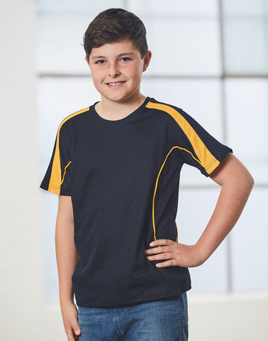 Winning Spirit Kids' TrueDry Short Sleeve Fashion Tee Shirt (TS53K)