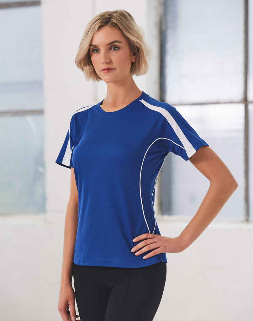 Winning Spirit Ladies' Truedry Short Sleeve Fashion Tee Shirt (TS54) 2nd color