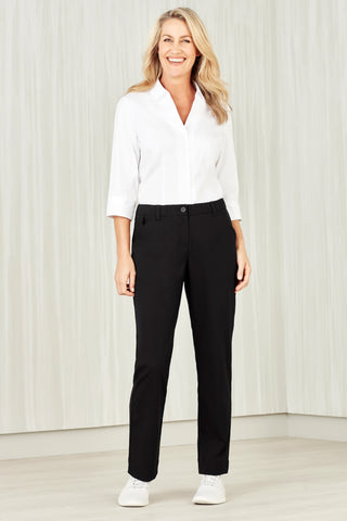 Biz Care Womens Comfort Waist Straight Leg Pant (CL955LL)