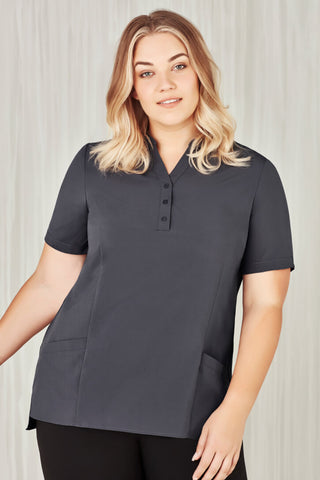 Biz Care Womens Easy Stretch Tunic (CS949LS)