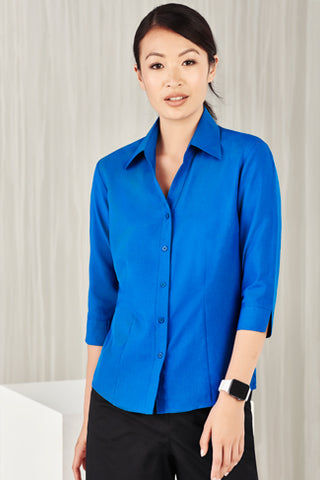 Biz care Ladies Plain Oasis 3/4 Sleeve Shirt  (LB3600)