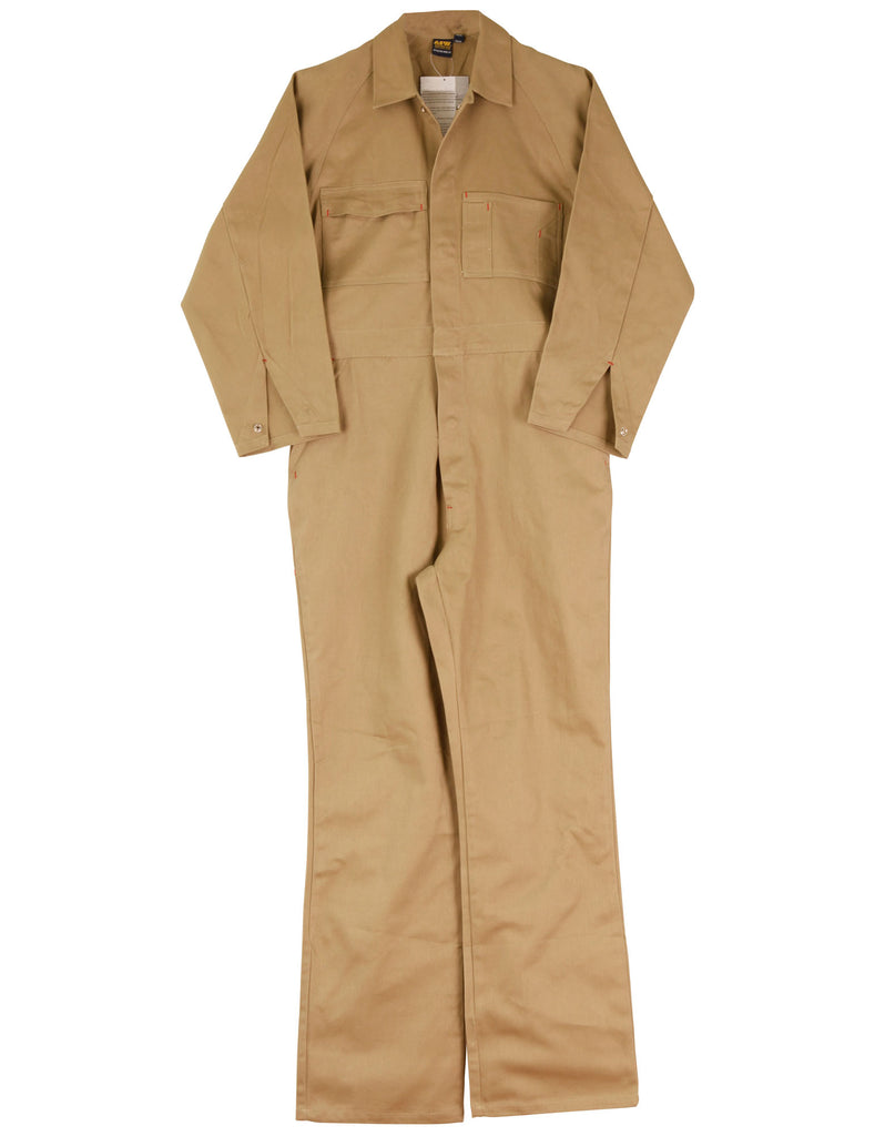 Winning Spirit Men's Cotton Drill Coverall Stout (WA08)