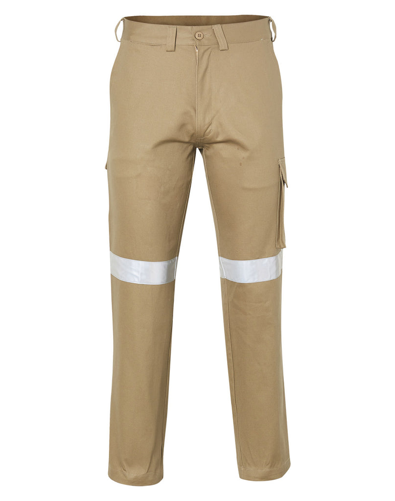 Winning Spirit Men's Heavy Cotton Pre-shrunk Drill Pants with 3M Tapes (WP07HV)