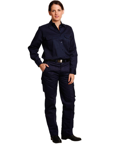 Winning Spirit Ladies Heavy Cotton Drill Pants (WP15)