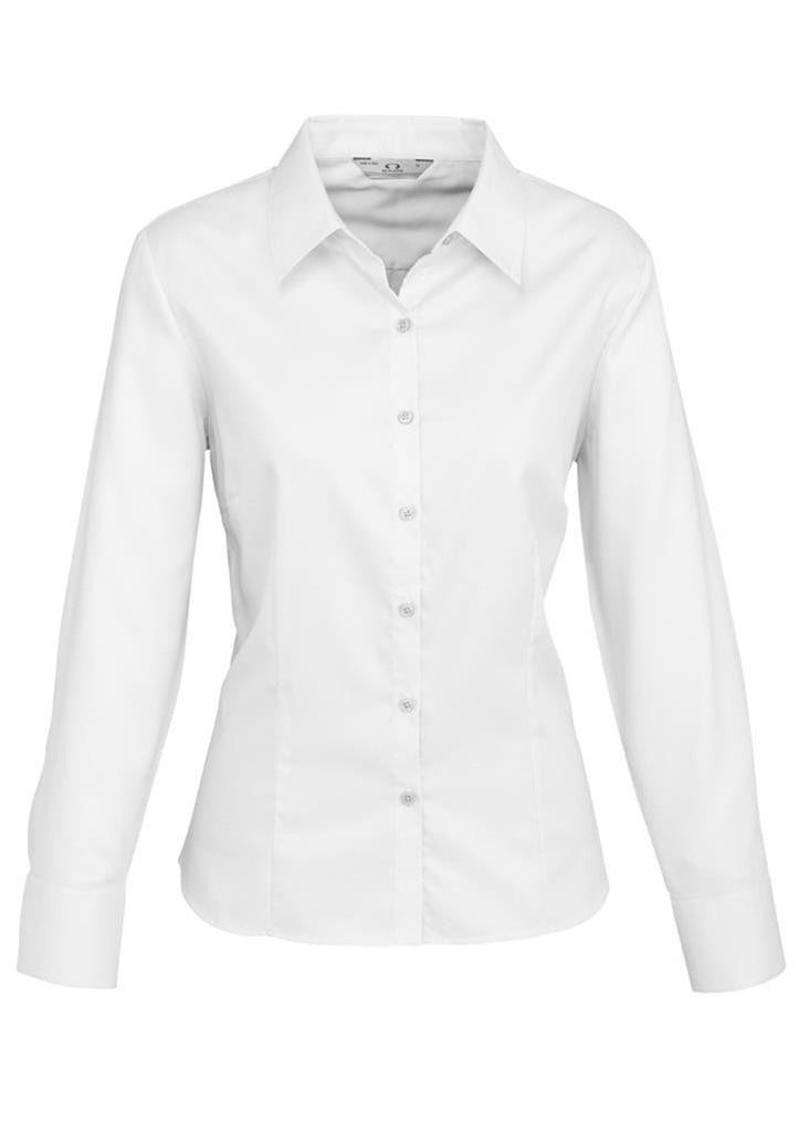 Biz Collection Ladies Luxe L/S Shirt (S118LL)