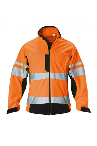 Hard Yakka  Hi-visibility Two Tone Soft Shell Jacket With Stretch Tape (Y06546)