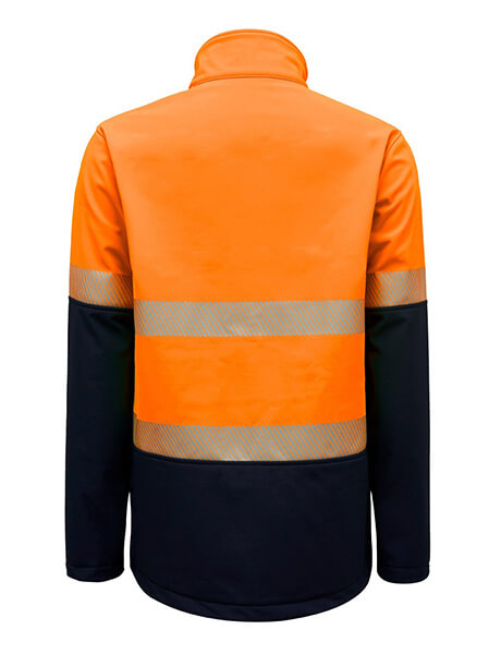 Hard Yakka Hi Vis 2Tone Softshell Jacket With Tape (Y06800)