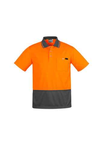 Syzmik Mens Comfort Back S/S Polo (ZH415)