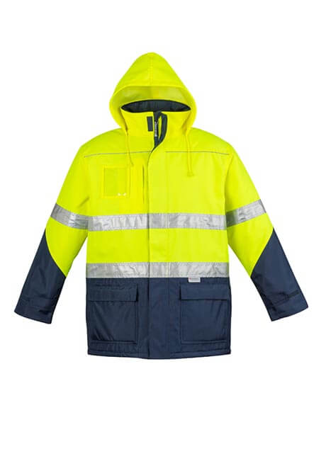Syzmik ZJ350 Unisex Day/night Quilt Lined Storm Jacket