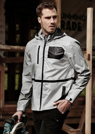 Syzmik Unisex Streetworx Reflective Waterproof Jacket (ZJ380)