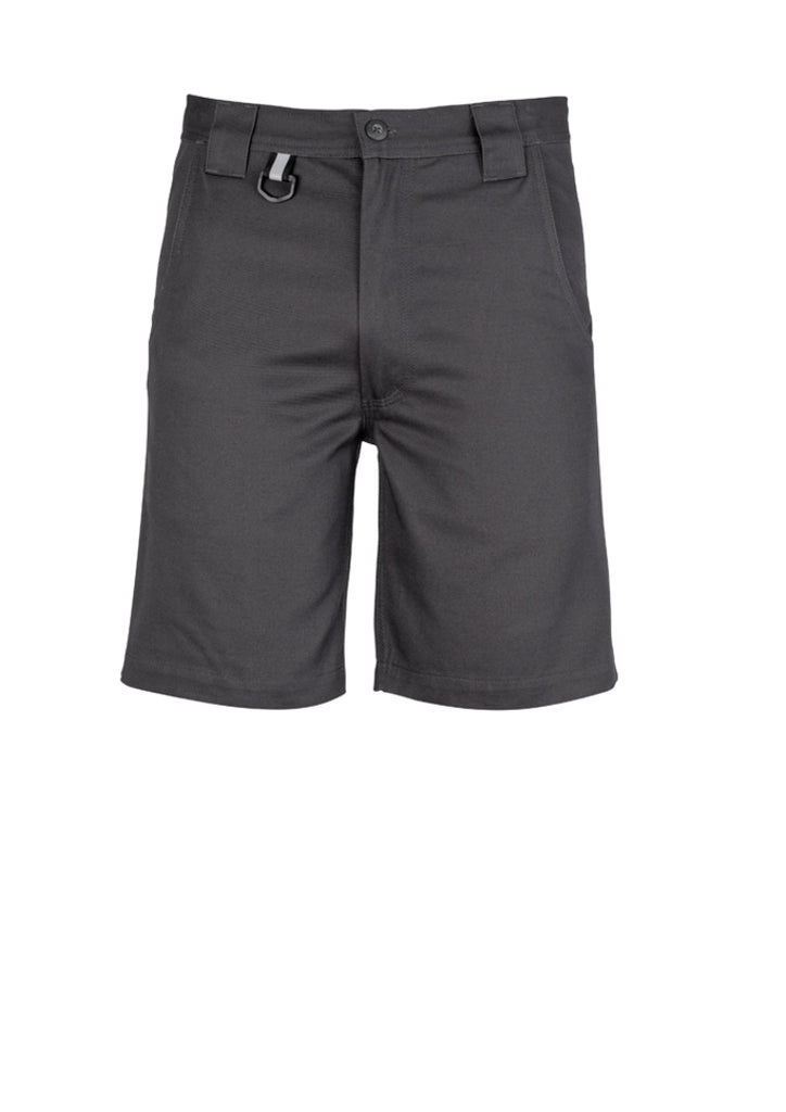 Syzmik ZW011 Mens Plain Utility Short 3 Pack