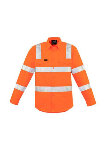 Syzmik Mens Bio Motion Vic Rail Shirt (ZW680)