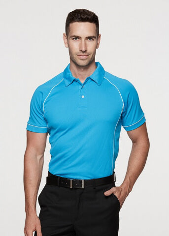 Aussie Pacific Mens Endeavour Polo 1st ( 12 Colour )-(1310)