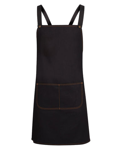 Jb Cross Back Denim Apron (5ACBD)