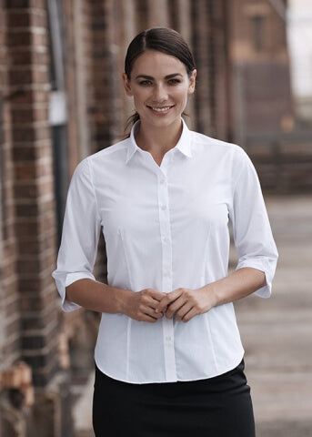 Aussie Pacific Kingswood Lady Shirt 3/4 Sleeve (2910T)