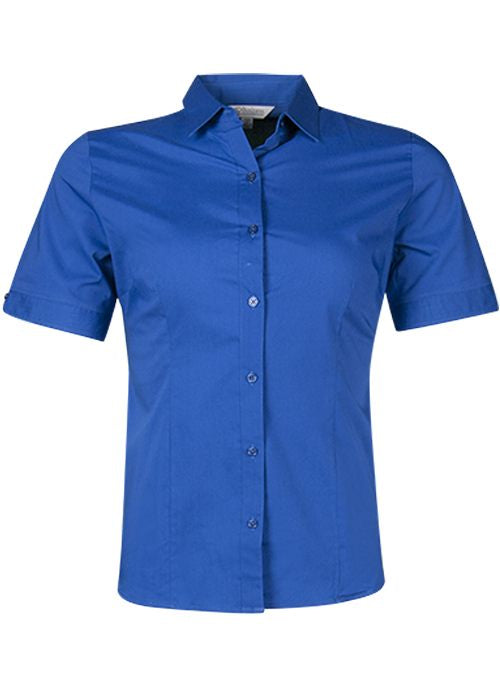 Aussie Pacific Lady Mosman Short Sleeve Shirt-(2903S)