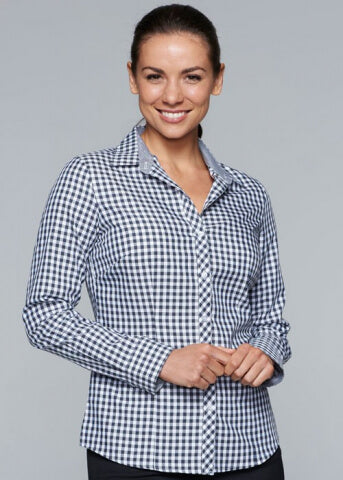 Aussie Pacific Brighton Lady Shirt Long Sleeve (2909L)
