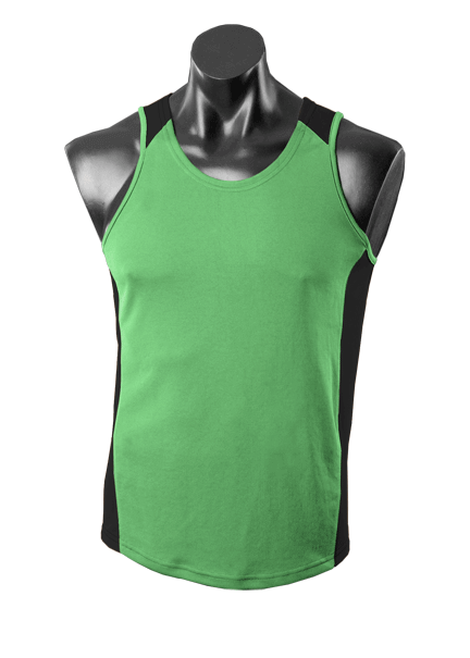 Aussie Pacific Premier Mens Singlet 1st  ( 13 Colour )-(1101)
