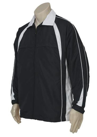 Biz Collection Adults Splice Track Top (J8814)