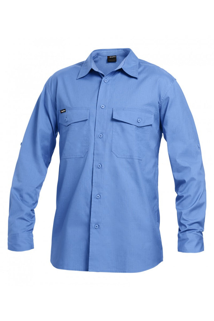 KingGee Workcool 2 Shirt L/S - Cotton Ripstop (K14820)