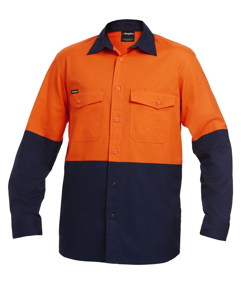 KingGee Workcool 2 Spliced Shirt L/s (K54870)