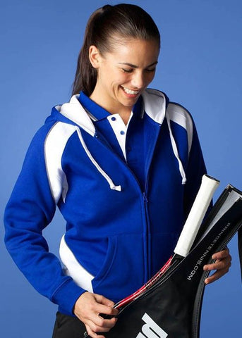Aussie Pacific-Aussie Pacific Panorama Zip Ladies Hoodies--Uniform Wholesalers