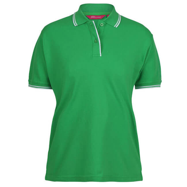 Jb's Ladies Contrast Polo 2nd ( 11 Color ) (2LCP)
