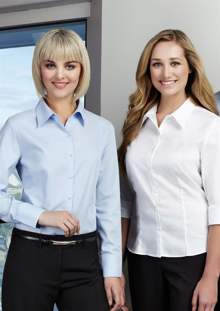 Biz Collection Ladies Luxe 3/4 Sleeve Shirt (S10221)