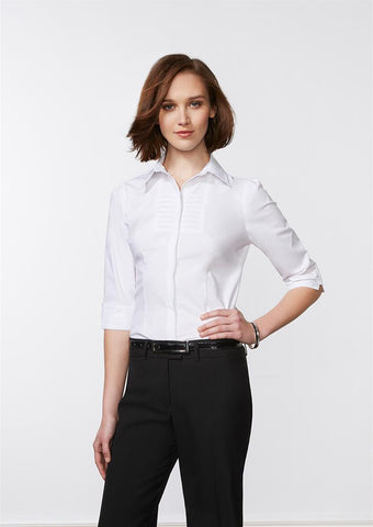 Biz Collection Ladies Berlin 3/4 Sleeve Shirt (S121LT)