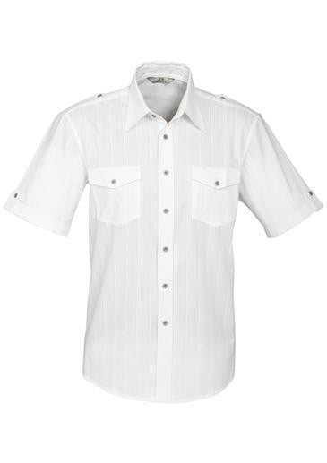 Biz Collection Mens Brooklyn Short Sleeve Shirt (S29612)