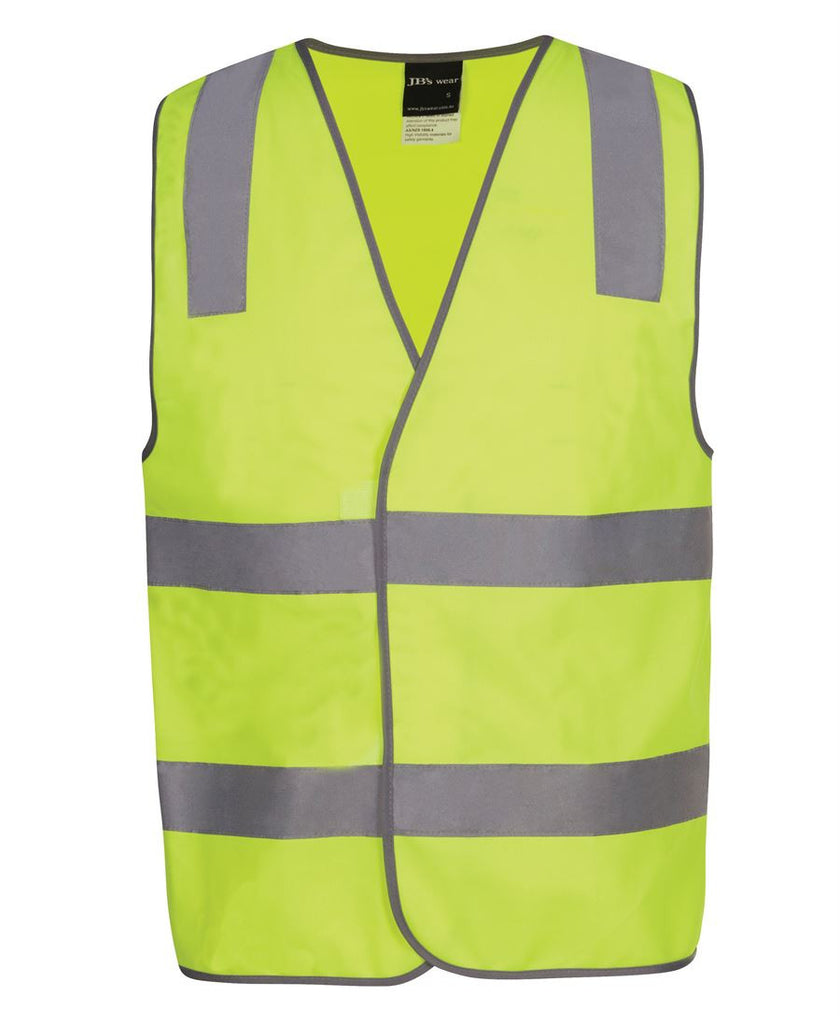 JB's Hi Vis (D+N) Safety Vest Staff (6DNS6)