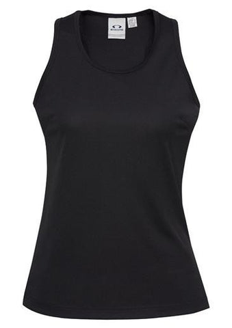 Biz Collection Ladies Sprint Singlet (SG302L)