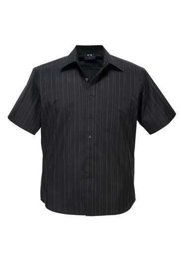 Biz Collection Mens New Yorker Short Sleeve Shirt (SH271)