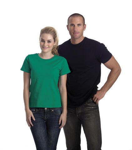 identitee Mens Soho -Semi-Fitted Crew T-Shirt-(T01)