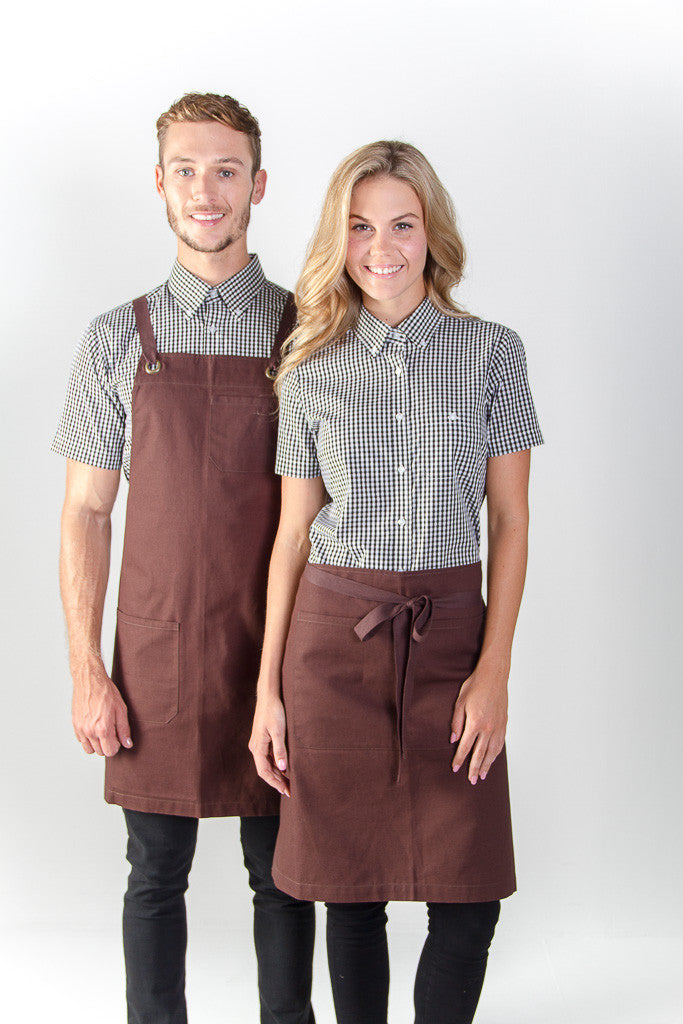 Identitee jimmy canvas waist apron a budget workwear