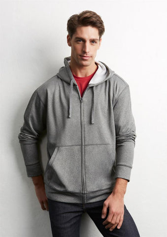 Biz Collection Mens Hype Full-Zip Hoodie (SW308M)
